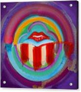 American Kiss Acrylic Print