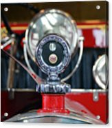 American Lafrance Vintage Fire Truck Gas Cap Acrylic Print