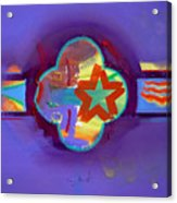 American Neon Acrylic Print