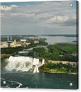 American Niagara Falls #2 Acrylic Print