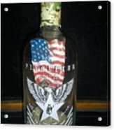 American Pendleton Commemorative Bottle Acrylic Print