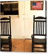 American Porch Acrylic Print