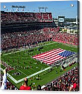 American Pride Bucs Style Acrylic Print by David Lee Thompson