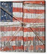 American Pride Acrylic Print