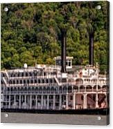 American Queen Riverboat Acrylic Print