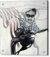 American Rider Acrylic Print
