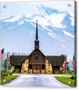 American Soldiers Chapel Acrylic Print