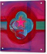 American Spiritual Decal Acrylic Print