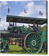 American Steam Roller Acrylic Print