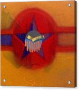 American Sub Decal Acrylic Print