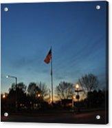 American Sunset Acrylic Print