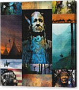 American Tapestry Acrylic Print