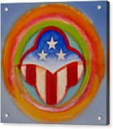 American Three Star Landscape Acrylic Print
