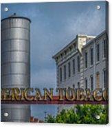 American Tobacco Redevelopment Acrylic Print