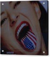 American Tounge Acrylic Print
