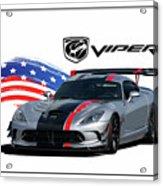 American Venom Acrylic Print