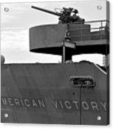 American Victory Ship Acrylic Print