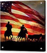 American West Acrylic Print