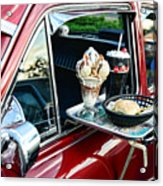 Americana - The Car Hop Acrylic Print by Paul Ward