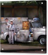 Americana -  We Sell Ice Cream Acrylic Print by Mike Savad