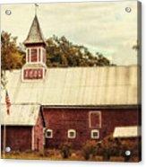 Americana Barn Acrylic Print