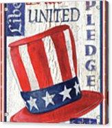 Americana Patriotic Acrylic Print