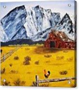 Americana - Plains Of Colorado Acrylic Print