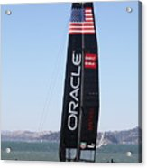 America's Cup In San Francisco - Oracle Team Usa 4 - 5d18225 Acrylic Print