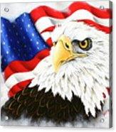 Americas Pride Acrylic Print