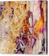 Amethyst And Copper 1 Acrylic Print