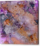 Amethyst And Copper Acrylic Print
