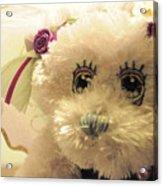 Amethyst Fairy Bear Acrylic Print
