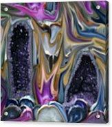 Amethyst Firestorm Acrylic Print