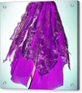 Ameynra Fashion - Iris Skirt Acrylic Print