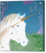 Amid The Unicorns Acrylic Print