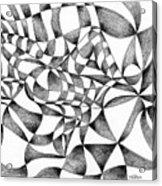 Amidst Silken Sheets Acrylic Print