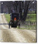 Amish Buggy March 2016 Acrylic Print
