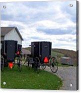 Amish Country Carts Autumn Acrylic Print