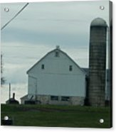 Amish Dairy Farm Acrylic Print