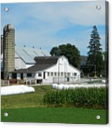 Amish Farm - Lancaster 02 Acrylic Print