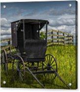 Amish Horse Buggy Acrylic Print