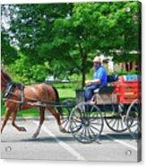 Amish Merchant 5671 Acrylic Print by Guy Whiteley