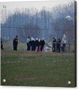 Amish Teens At An Easter Monday Gathering Acrylic Print