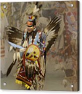 Pow Wow Among Friends Acrylic Print