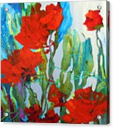 Among The Roses Acrylic Print