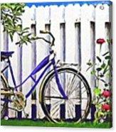 Among The Roses Acrylic Print