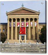 Amore - The Philadelphia Museum Of Art Acrylic Print