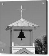 Amory Memorial Chapel Boca Grande Fl Acrylic Print