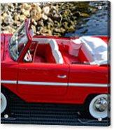 Amphicar Red  Acrylic Print