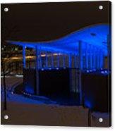 Amphitheater In Blue Acrylic Print